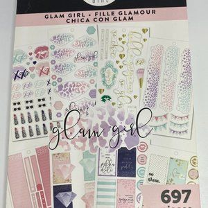 NWT The Happy Planner Glam Girl Sticker Book